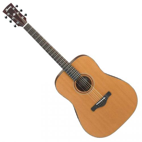 ibanez aw65l de lg guitare acoustique gaucher naturel