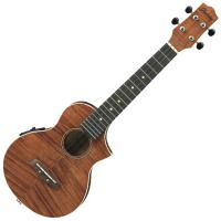 Photo IBANEZ UEW15E-OPN - UKULELE ÉLECTRO-ACOUSTIQUE OPEN PORE NATURAL
