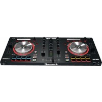 Photo NUMARK MIXTRACKPRO III - CONTROLEUR DJ 2 VOIES + 16 PADS + CARTE SON