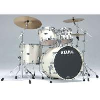 Photo TAMA PP42S - KIT STARCLASSIC PERFORMER B/B 4 FÛTS SATIN PEARL WHITE