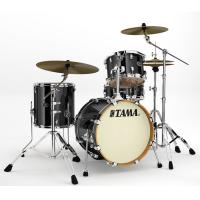 Photo TAMA VD48S-BCB - SILVERSTAR 4PC BRUSHED CHARCOAL BLACK