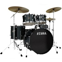 Photo TAMA RM52KH6C-CCM - RHYTHM MATE 5PC CHARCOAL MIST