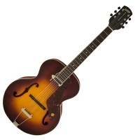 Photo GRETSCH GUITARS G9555 NEW YORKER ARCHTOP ANTIQUE BURST