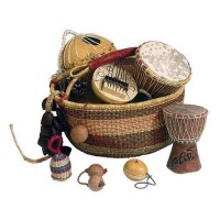 Photo FUZEAU PANIER AFRICAIN SELECTION 8 INSTRUMENTS