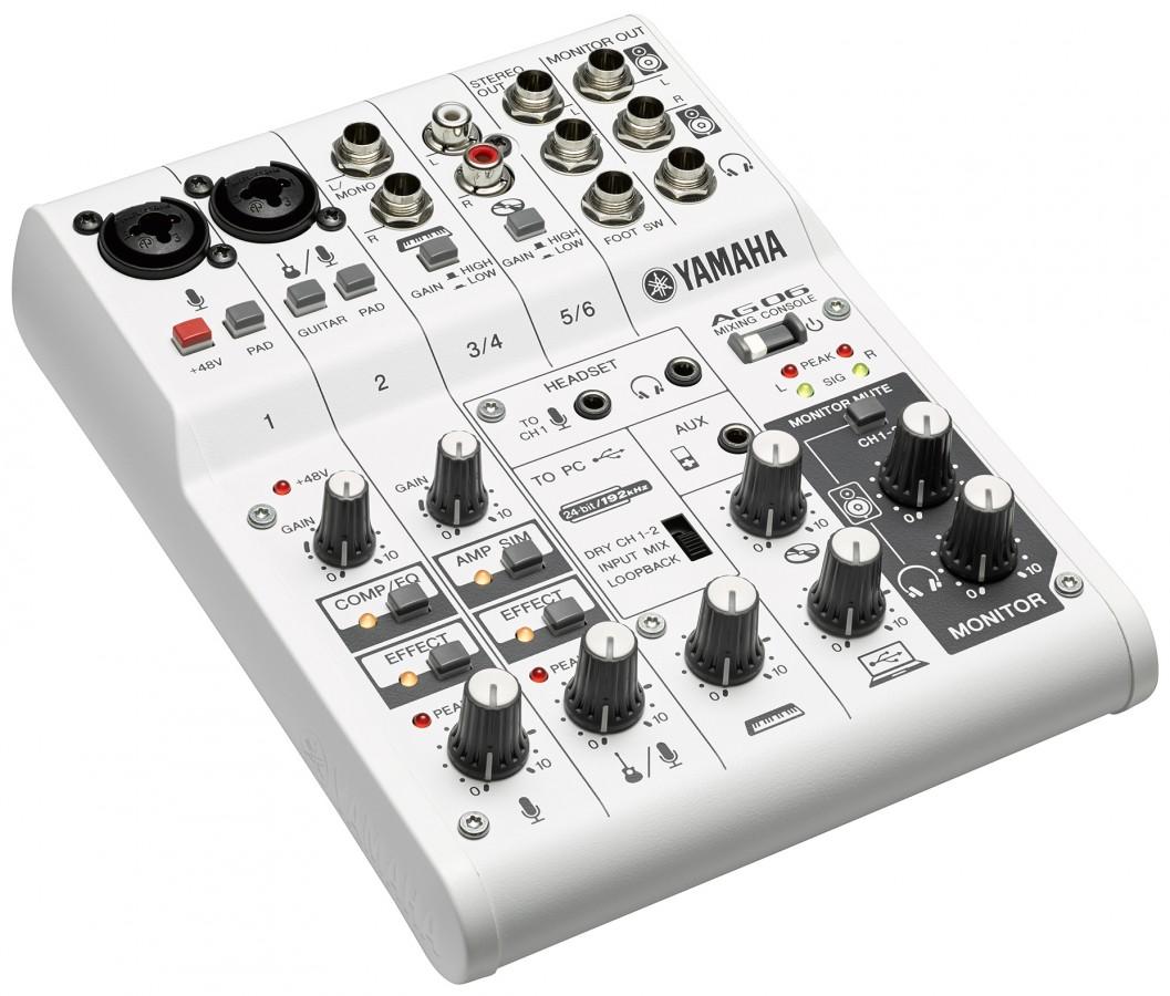 Existe aussi en yamaha ag03 table de mixage usb - Table de mixage amplifiee yamaha ...