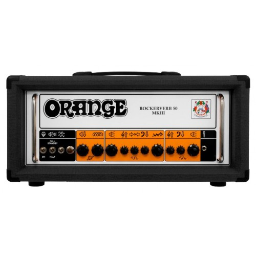 ORANGE RK50H ROCKERVERB 50 MKIII HEAD BLACK