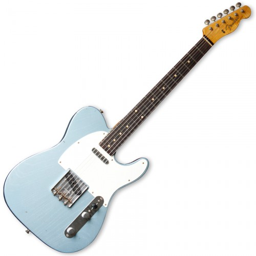 FENDER 1959 TELE JOURNEYMAN RELIC BLUE ICE METALLIC RW