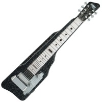 Photo GRETSCH GUITARS G5715 LAP STEEL - BLACK SPARKLE