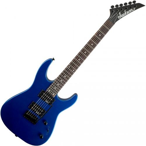 JACKSON JS12 DINKY METALLIC BLUE