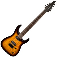 Photo JACKSON JS32-7Q DINKY ARCH TOP TOBACCO BURST