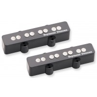 Photo SEYMOUR DUNCAN KIT QUARTER-POUND JAZZ BASS BLACK - SJB-3S