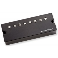 Photo SEYMOUR DUNCAN SENTIENT 8 NECK AC SOAPBAR BLACK - SNT-N-A-B-8STR