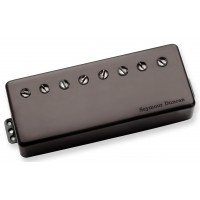 Photo SEYMOUR DUNCAN SENTIENT 8 NECK PA BLACK METAL - SNT-N-P-BMT-8STR