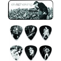 Photo DUNLOP BOÎTE DE 6 MEDIATORS, ELVIS THE KING, MEDIUM