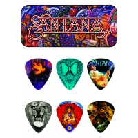 Photo DUNLOP BOÎTE DE 6 MEDIATORS CARLOS SANTANA, MEDIUM