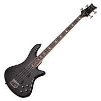 Photo SCHECTER STILETTO EXTREME-4 SEE THROUGH BLACK