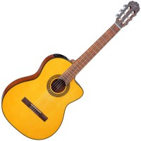 Photo TAKAMINE GC1CE-NAT CLASSIQUE ELECTRO CUTAWAY NATURAL