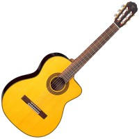 Photo TAKAMINE GC5CE-NAT CLASSIQUE ELECTRO CUTAWAY NATURAL