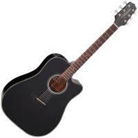 Photo TAKAMINE GD15CE-BLK ELECTRO CUTAWAY BLACK