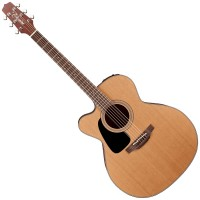 Photo TAKAMINE P1JC-LH ELECTRO CUTAWAY NATURAL SATIN LH