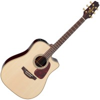 Photo TAKAMINE P5DC ELECTRO CUTAWAY NATURAL GLOSS