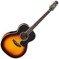 Photo TAKAMINE P6N-BSB ELECTRO BROWN SUNBURST GLOSS