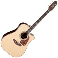 Photo TAKAMINE P7DC ELECTRO CUTAWAY NATURAL GLOSS