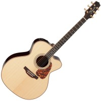 Photo TAKAMINE P7JC ELECTRO CUTAWAY NATURAL GLOSS