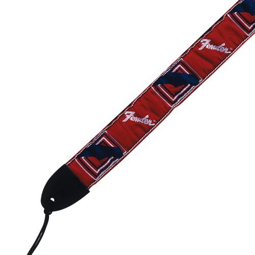 FENDER SANGLE MONOGRAMMED RED-WHITE-BLUE