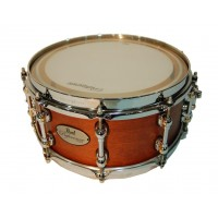 "Photo PEARL CAISSE CLAIRE REFERENCE PURE 14""X6.5"" MATTE WALNUT"