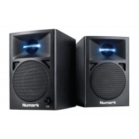 Photo NUMARK NWAVE360 - PAIRE D'ENCEINTES ACTIVES 2X15W