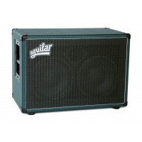 "Photo AGUILAR DB210-MG8 - BAFFLE 2X10"" MONSTER GREEN 350W / 8 OHMS"