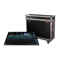 Photo GATOR G-TOURQU32 - FLIGHT CASE POUR CONSOLE A&H QU32