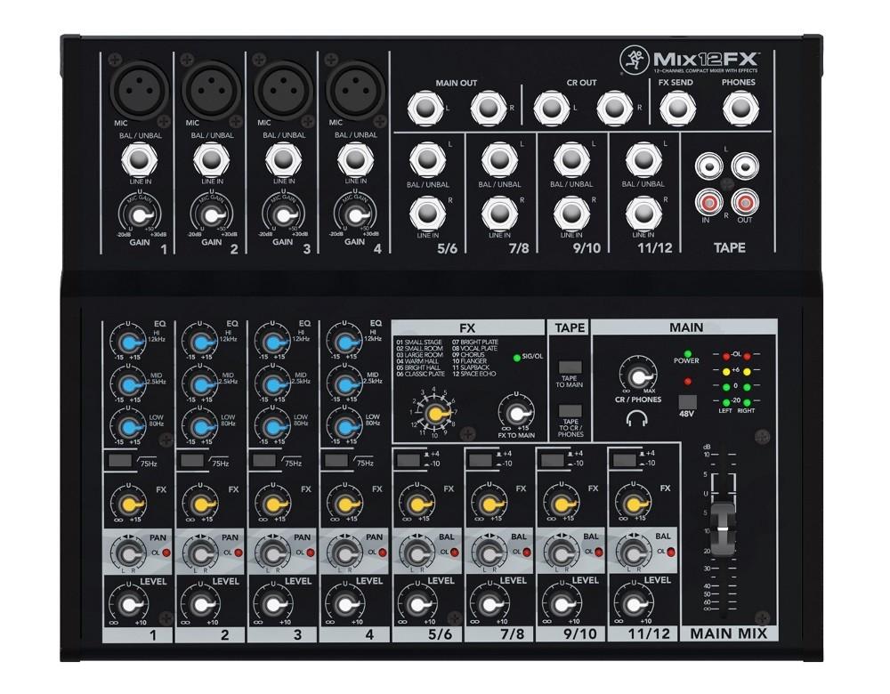 table de mixage 10 entrees