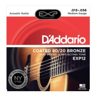Photo D'ADDARIO EXP12NY EXP 80/20 BRONZE MEDIUM 13/56