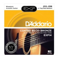 Photo D'ADDARIO EXP14NY EXP 80/20 BRONZE LT TOP-MED BOTTOM 12/56