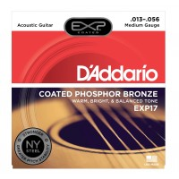 Photo D'ADDARIO EXP17NY EXP COATED PHOSPHORE BRONZE MEDIUM 13/56