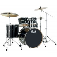 "Photo PEARL EXPORT LACQUER 5 FÛTS ROCK 22"" BLACK SMOKE"
