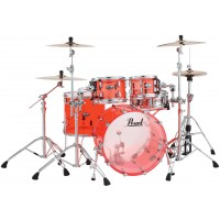 "Photo PEARL CRYSTAL BEAT 4 FÛTS FUSION 20"" RUBY RED"