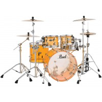 "Photo PEARL CRYSTAL BEAT 4 FÛTS ROCK 22"" TANGERINE GLASS"