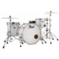 "Photo PEARL WOOD FIBERGLASS 3 FÛTS ROCK 24"" WHITE MARINE PEARL"