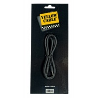 Photo YELLOW CABLE K17-6 MINI JACK STEREO/MINI JACK STEREO 6M