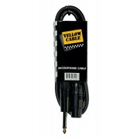 Photo YELLOW CABLE M03J JACK MALE/XLR FEMELLE 3M
