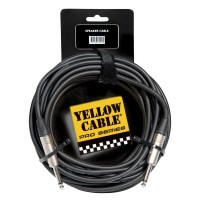 Photo YELLOW CABLE PROHP10 - HP JACK/JACK 10M NEUTRIK