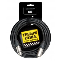 Photo YELLOW CABLE PROM015X XLR/XLR 1.5M NEUTRIK