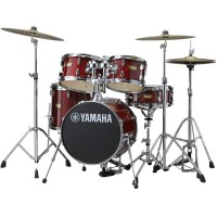 Photo YAMAHA JUNIOR KIT MANU KATCHE CRANBERRY RED