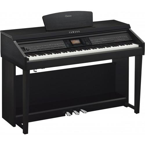 Yamaha cvp 701b clavinova black walnut achat piano for Meuble yamaha