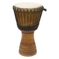 "Photo TANGA DJEMBE IROKO 9.5"" NATUREL"