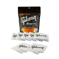 Photo GIBSON CORDES - BRITE WIRES ELECTRIC 09/42 SET DE 5 JEUX