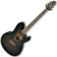 Photo IBANEZ TCM50-TKS - TRANSPARENT BLACK SUNBURST HIGH GLOSS